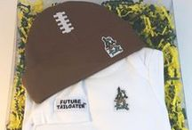 """William and Mary Baby / Future Tailgater offers awesome William and Mary baby apparel, accessories & gift sets for baby fans. Our items will make you smile cause they're """"Made to Play""""!"""