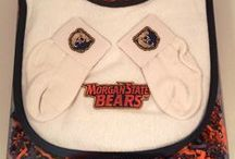 """Morgan State Bears Baby / Future Tailgater offers awesome Morgan State Bears baby apparel, accessories & gift sets for baby fans. Our items will make you smile cause they're """"Made to Play""""!"""