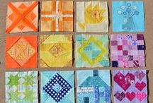 Quilts: Bees, BOMs & Samplers / blocks that look better collected together