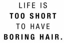 SH | Quotes / Dedicated to people who just 'get' hair | yours truly, SH xox