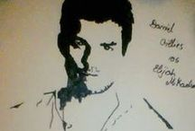 My drawings / Desene facute de mine.
