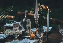 T A B L E • S E T T I N G / Table settings I love but can't re-create to save my life for some reason