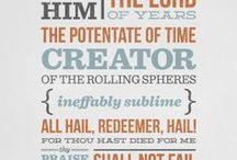 Hymns and Lyrics
