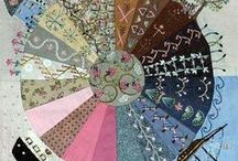 Quilt Embroidery, Crazy & Needlework / All sorts of needlework, ribbon embroidery, crazy quilting, smocking...love it all!