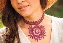Shrone Designs / My original thread crochet design patterns for sale.