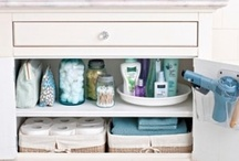tips for around the house - organizing, cleaning, etc / by Debbie Oddi