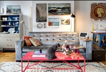 spaces i heart ~ living rooms / by Debbie Oddi