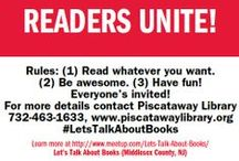 Let's Talk About Books / Let's Talk About Books shares books, authors, stories, words and more -- at f2f discussions once a month in and around Piscataway, NJ and also 24/7 on Facebook! https://www.facebook.com/groups/221450134699796/