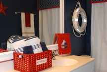 nautical bathroom / by a man duhhhh !