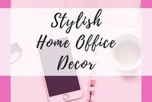 Stylish Home Office Decor / Home Office Ideas | Home Office Design | Home Office Organization | Bookshelves | Small Home Office | Work From Home | Home Office On A Budget | Guest Room | Chic | DIY | Home Office Decor | Home Office Layout | Home Office Makeover | www.9to5project.com