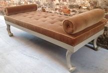 Design details: Tufting / A few examples of tufted pieces, selected from our collection of custom furniture.