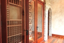 Interiors: Rustic Wine Room / A peek at a great feature of one of our recent design projects!