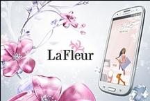 Samsung La Fleur / Design for microsite http://www.samsung.com/ru/microsite/lafleur/index.html