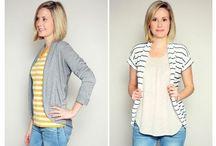 Sewing Cardigans, Jackets, Vests