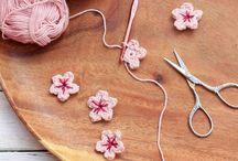 編み物(花)