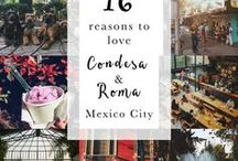 Mexico/Méxic/Мексика/Mexique / What I love about Mexico is......  I created this board with some of my fav places and cultural facts just to emphasize how much I love this country