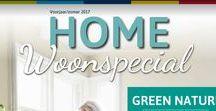 Home Woonspecial voorjaar/zomer 2017 / De nieuwste trends op het gebied van wonen lees je in de woonspecial van Home Center.