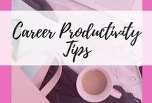 Career Productivity Tips / Productivity Tips | Productivity Quotes | Productivity Apps | Productivity Tools | How To Be Productive | Productivity Planner | Productivity Hacks