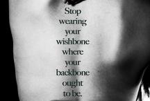 WORDS / quotes//words of wisdom//etc.