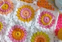 My Granny Squares / crochet