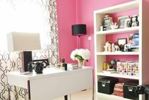 HOME / OFFICE / Interior Design | Office Decor | Workspaces | Office Design | Inspiration Walls / by Laurie Cosgrove @ Beauty Divine