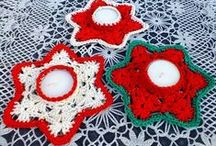 christmas crochet patterns / crochet, christmas, crochet patterns, crochet ideas
