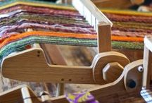 Tissage / Weaving / by Claire Des Bruyeres