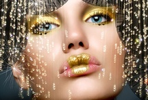 GOLD GLITTERS!! / THE RICHNESS OF GOLD.... / by Carole Dagostino