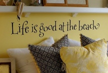 BEACH HOUSE DECOR!! / fun decorating ..in my pinning,  pretend world of dreams..enjoy! / by Carole Dagostino
