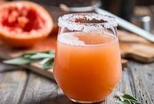 Delicious Drinks / Beverages of all sorts, hot and cold, alcoholic and non alcoholic.