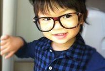kids sunglasses eyeglasses / Kids and Glasses are really cute, don't you think ? Put the best glasses on them. Visit www.visual-click.com because we love kids wearing glasses