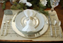Entertaining/Table settings / by Bridget Fischer
