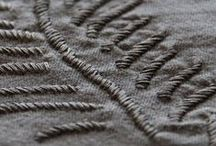 Broderie / Embroidery / by Claire Des Bruyeres