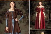 Middeleeuwen kostuum / by Suzanne Bilous