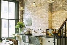 Home Inspiration - Kitchens and Dining / by Linda Pickrell