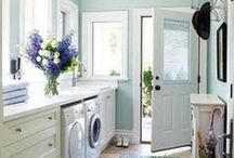 Home Inspiration - Laundry and Utility Rooms / by Linda Pickrell