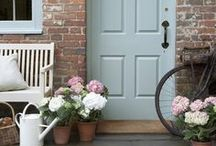 Home Inspiration - Doors, Entrances and Hallways / by Linda Pickrell