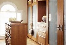 Home Inspiration - Closets and Dressing Rooms / by Linda Pickrell