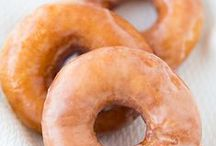 The Dounut Project / Doughnuts have a disputed history. But baked or fried, filled or plain, glazed or iced, light n' fluffy, dense and moist...I love 'em! This board is an exploartion of all they have been imagined to be!  Please ♥ what you like and Pin what you ♥! Thanks for following!