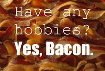 "Your Best Bacon Recipes / A public board for your most sizzl'n bacon recipes. Want to contribute? FOLLOW the board, then comment ""add me"" on the ADD ME - BACON pin. I'll add you in 24-48 hrs. Thanks! / by Cupboard & Cabin, by Kevin Hartley"
