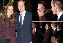 Royals Trip to NYC 2014 / The Duke and Duchess of Cambridge visit New York for the first time from December 7, 2014 - December 9, 2014.  Prince George stayed at home in London.