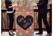Gender Reveal & Maternity Photo Ideas / Just for us/family pics, not trying to make a huge FB announcement or anything. Lots of DIY ideas too!!