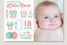 Life: Birth Announcement Cards / Baby
