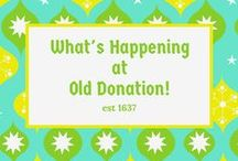 Things to do! / Check back for information as to what's going on around Old Donation.