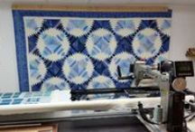 """Longarm Quilting / """"Up Close"""" photos of my Longarm Quilting --- Click on the photo and it will take you to my blog where I share more up close photos of my quilting."""