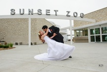 {Real Weddings at Sunset Zoo} / Sunset Zoo's unique setting offers several packages for the perfect wedding experience with indoor & outdoor venues ideal for ceremonies & receptions. Contact Courtney at dehn@cityofmhk.com or 785.587.2737 for more information!