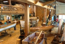 The Watercraft Center / Located across the street from the North Carolina Maritime Museum in Beaufort, NC., the Harvey W. Smith Watercraft Center showcases the art and skill of traditional boat building. Visitors are encouraged to watch, and take boatbuilding courses offered throughout the year for all skill levels. Opened in 1991, the Museum's Watercraft Center carries on the rich boatbuilding heritage of North Carolina coast.