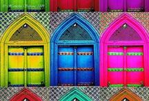 Doors, Doors & More Doors / by Dorothy Poole