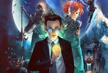 Artemis Fowl / I love these books more than Harry Potter. Go read them now, peasants.