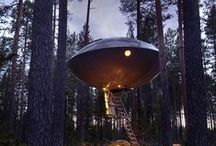 Extreme housing / To each their own. This board pictures some of the most extreme ways to live.